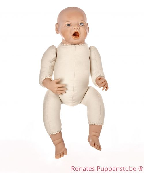 No 45 Rosaly - preemie baby doll with sutures