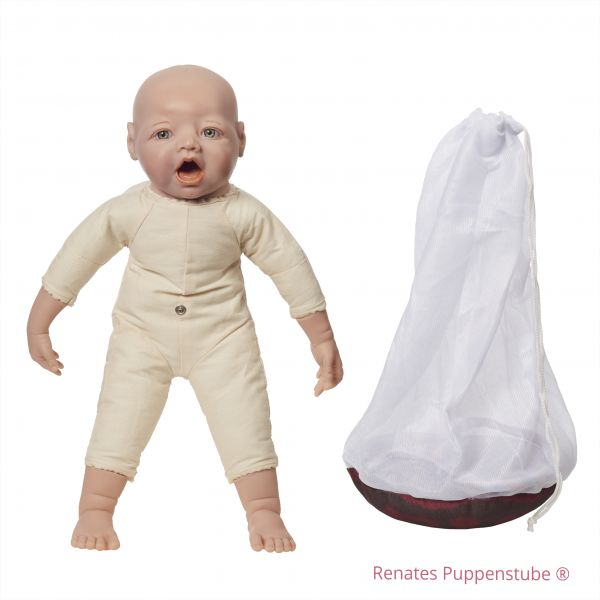 Placenta umbilical cord model +Foetus doll with mouth for breast feeding, sutures and fontanelles