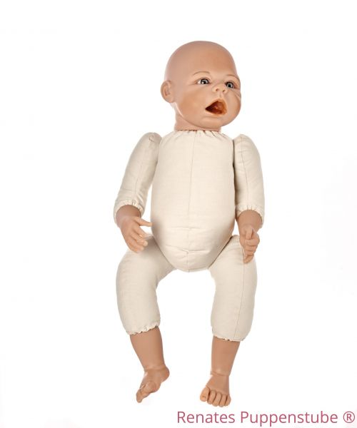 No 50 Leon - newborn baby doll with sutures,