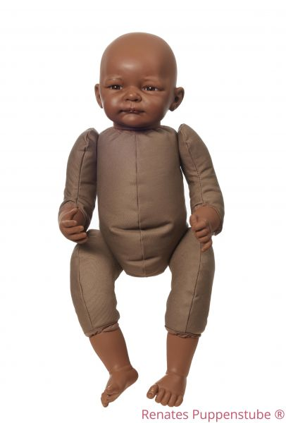 No 50 Selina dark skinned newborn baby doll