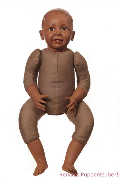 No 4848 David dark skinned Toddler doll to carry or as exhibition doll