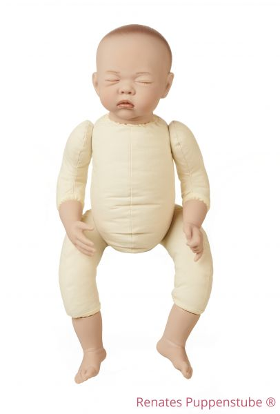 No 50 Paula sleepy Newborn baby doll